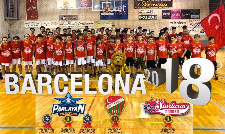 🇪🇸 BARCELONA BASKETBOL TURNUVASI 2018 – Uluslararası Altyapı Kulüpleri Şampiyonası