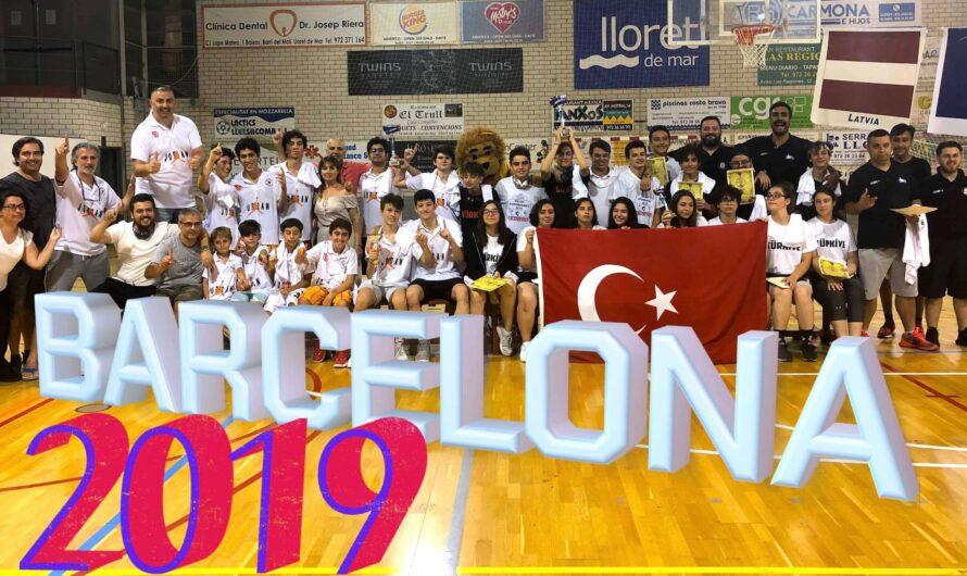 🇪🇸 BARCELONA BASKETBOL TURNUVASI 2019 – Uluslararası Altyapı Kulüpleri Şampiyonası