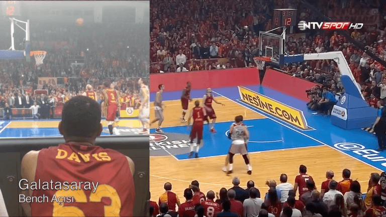 Doping Kontrol Görevlendirmesi – Galatasaray – Strasbourg