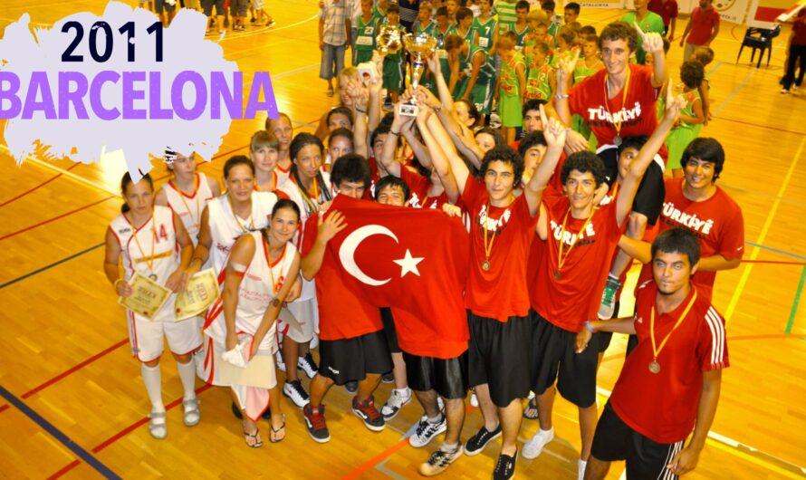🇪🇸 BARCELONA BASKETBOL KAMPI 2011- Altyapı Kulüpleri Basketbol Şampiyonası