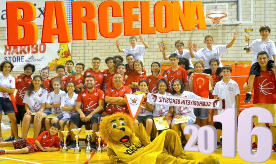 🇪🇸 BARCELONA BASKETBOL TURNUVASI 2016 – Uluslararası Altyapı Kulüpleri Şampiyonası