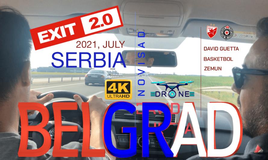 🇷🇸 Belgrad Turu – Novi Sad Turu – Exit Fest – Basketbol