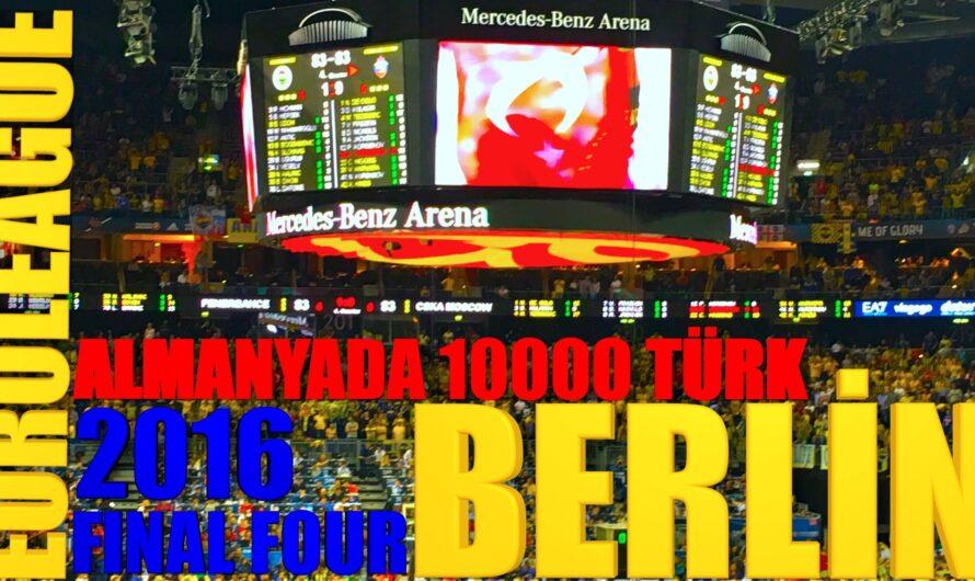 🇩🇪 Euroleague Final Four / BERLİN 2016 / Fenerbahçe – CSKA