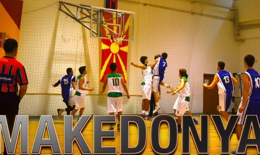 🇲🇰 MAKEDONYA BASKETBOL KAMPI 2014