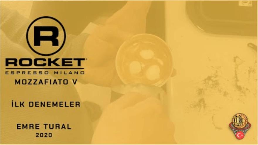Rocket Espresso Mozzafiato V Modeli Kutu Açılışı