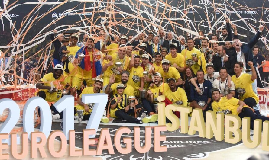 🇹🇷 Euroleague Final Four İstanbul 2017