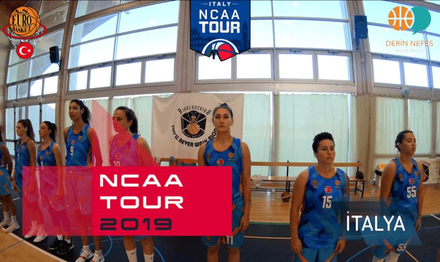 🇮🇹 İtalya NCAA Tour 2019 – Profesyonel Kadın Basketbol Takım Kampı