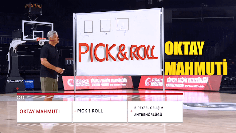 Pick & Roll – Oktay Mahmuti